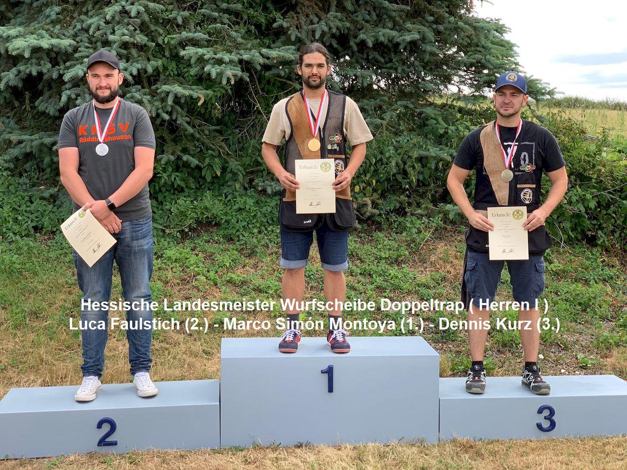 Fürther Flintenschützen bei den Hessischen Landesmeisterschaften in den Wurfscheibendisziplinen erfolgreich!